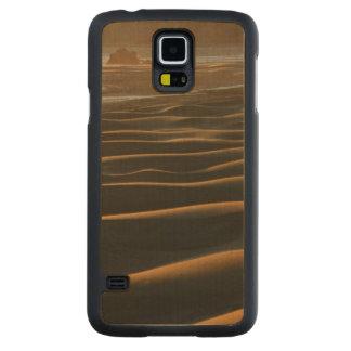 Puesta del sol, playa de Meyers, Oregon, los Funda De Galaxy S5 Slim Arce