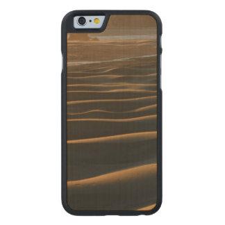 Puesta del sol, playa de Meyers, Oregon, los Funda De iPhone 6 Carved® Slim De Arce
