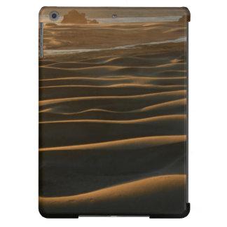 Puesta del sol, playa de Meyers, Oregon, los Funda Para iPad Air