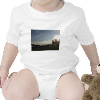 Puesta del sol traje de bebé