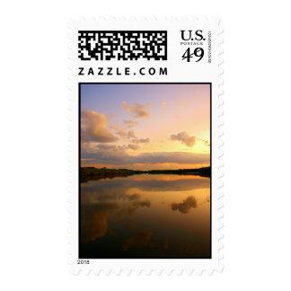 Puesta del sol postage2 sello