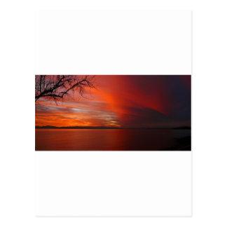 Puesta del sol postales