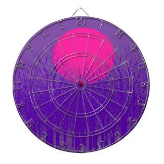Puesta del sol púrpura