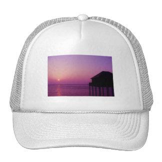 Puesta del sol púrpura - gorra