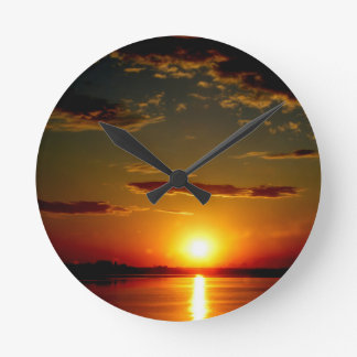 Puesta del sol relojes