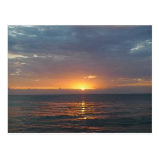 Puesta del sol, Rincon, Puerto Rico Postales