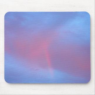 Puesta del sol rosada hermosa de California Tapetes De Ratones
