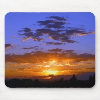 Puesta del sol rural de Idaho Mouse Pads