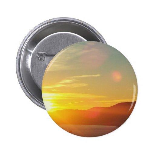 Puesta del sol sobre África Pin