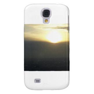 Puesta del sol sobre Chicago Funda Para Galaxy S4