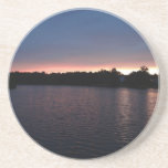 Puesta del sol sobre el cisne del lago, Georgia Posavaso Para Bebida