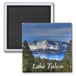Puesta del sol sobre el imán del lago Tahoe Califo