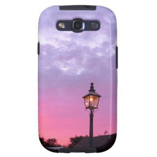 Puesta del sol sobre el museo de País Negro Samsung Galaxy S3 Cobertura