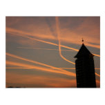 Puesta del sol sobre el puerto de Chelsea, Postal