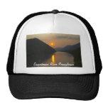 Puesta del sol sobre el río Susquehanna Pennsylvan Gorra