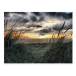 Puesta del sol sobre País de Gales Tarjetas Postales