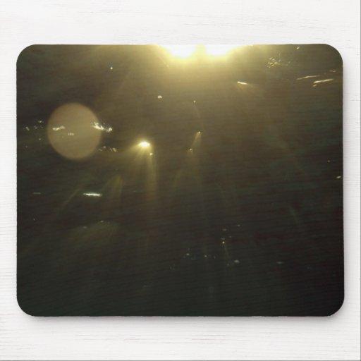 Puesta del sol subacuática mousepads