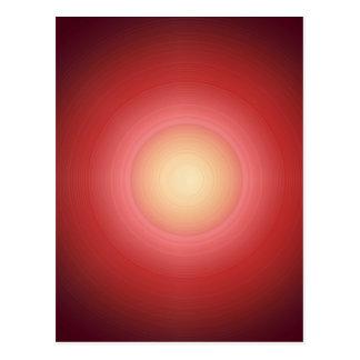Puesta del sol SunEnergy: El artista creó gráficos Postales