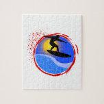 Puesta del sol Surfer.png Puzzles Con Fotos