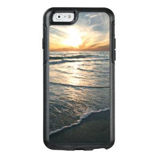 Puesta del sol tropical costera de la playa funda otterbox para iPhone 6/6s