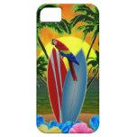 Puesta del sol tropical iPhone 5 coberturas