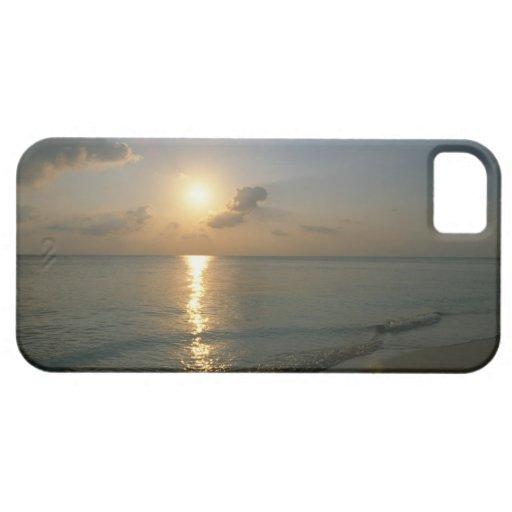 Puesta del sol y mar 2 funda para iPhone SE/5/5s