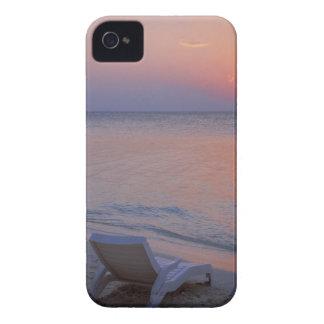 Puesta del sol y mar Case-Mate iPhone 4 cobertura