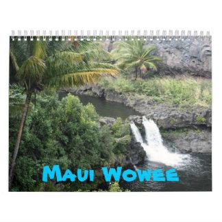 Puestas del sol de Maui Calendario