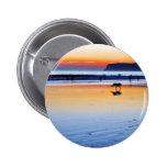Puestas del sol del Point Loma de las playas Pin Redondo 5 Cm