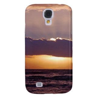 Puestas del sol en el cabo Suráfrica Funda Para Galaxy S4