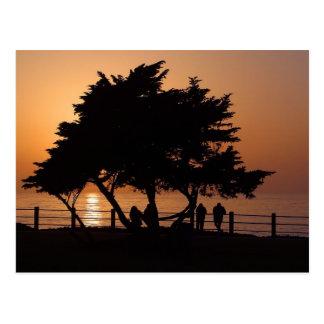 Puestas del sol La Jolla Postales