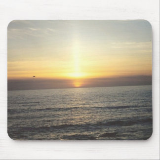 Puestas del sol MousePad del océano