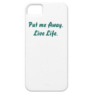 Puesto de lado me. Vida viva iPhone 5 Fundas