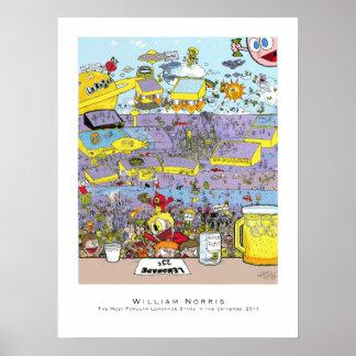 Puesto de limonadas - posters e impresiones