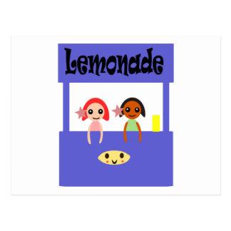 Puesto de limonadas postales