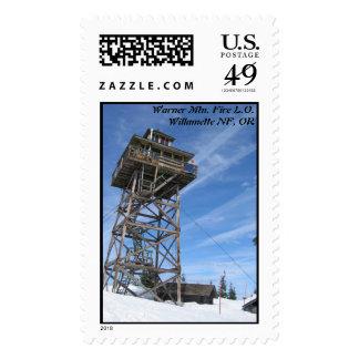 Puesto de observación del fuego de la montaña de sellos