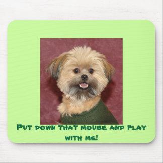 ¡Puesto en el suelo ese ratón y juego conmigo! Mousepad