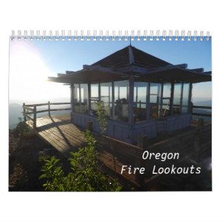 Puestos de observación del fuego de Oregon Calendarios