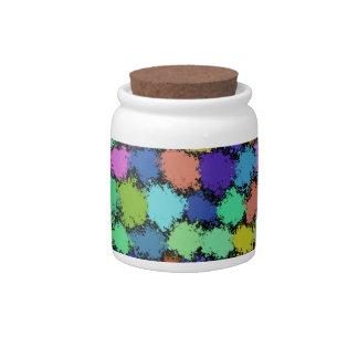 PUFF BALLS CANDY JAR