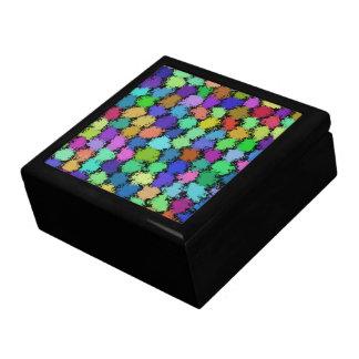 PUFF BALLS JEWELRY BOXES