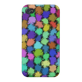 PUFF BALLS COVER FOR iPhone 4