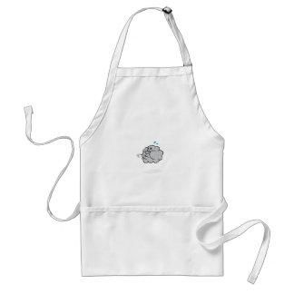 puff cloud adult apron