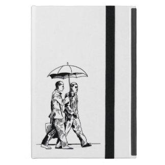 Puff D. With Umbrella Cover For iPad Mini