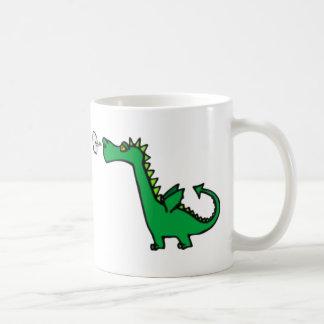 puff dragon coffee mug