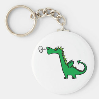 puff dragon keychain