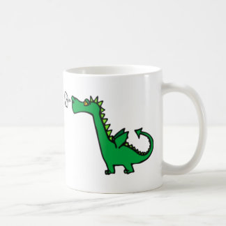 puff dragon coffee mug