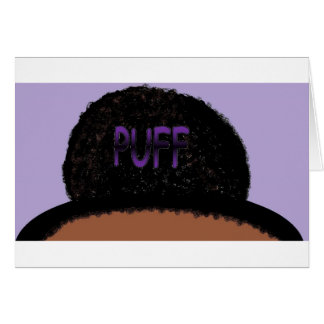 PUFF GREETING CARDS