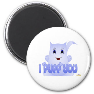 Puff Pal Blink I Puff (Love) You Refrigerator Magnet