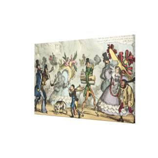 Puff, Puff, It is an Age of Puffing, Puff, Puff, P Canvas Print