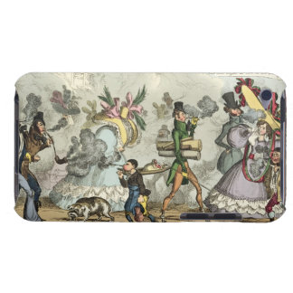 Puff Puff It is an Age of Puffing Puff Puff P Barely There iPod Covers